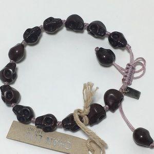 Chan Luu Jewelry - NWT Chan Luu skull adjustable cord bracelet